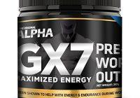 the original alpha gx7 pre workout review