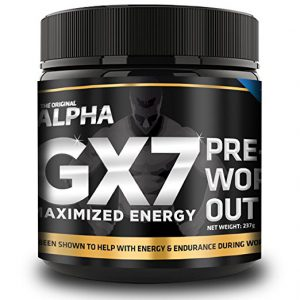 the original alpha gx7 pre workout review