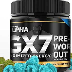 the original alpha gx7 pre workout review summary